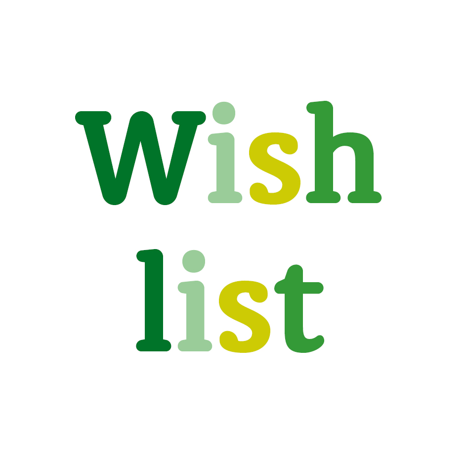 Can You Help Us With Our Wish List?
