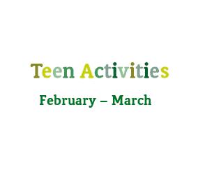 Teenage Activities