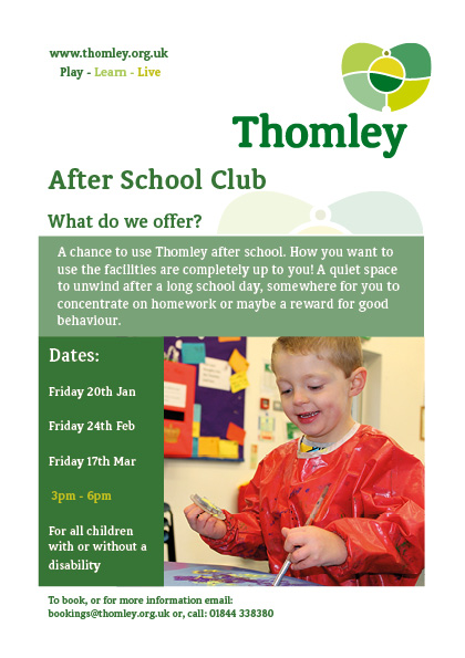 New After School Sessions For Disabled People