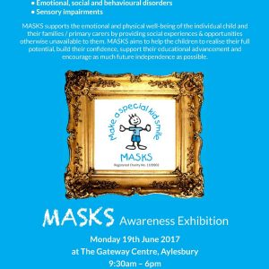 MASKS Art Exhibition On 19th June…