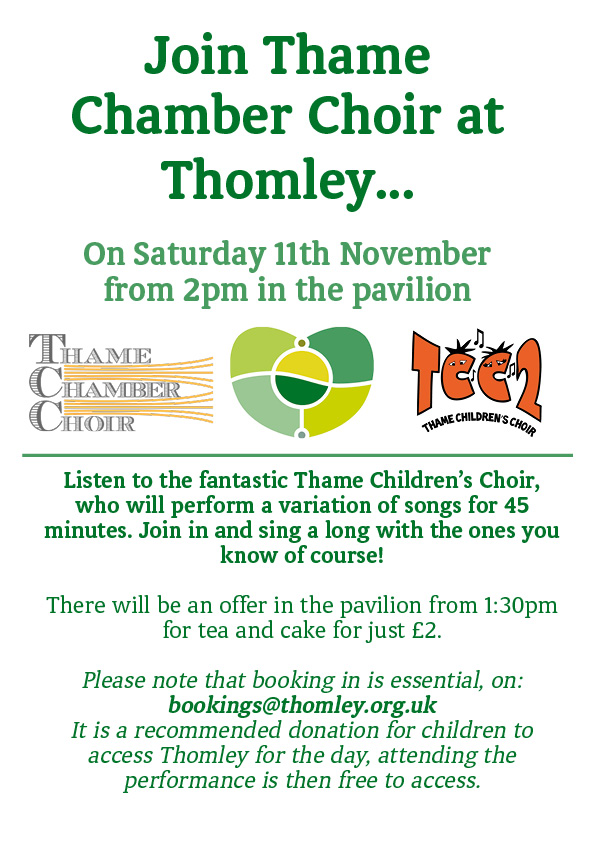 Thame Children's Choir Sing For Thomley!