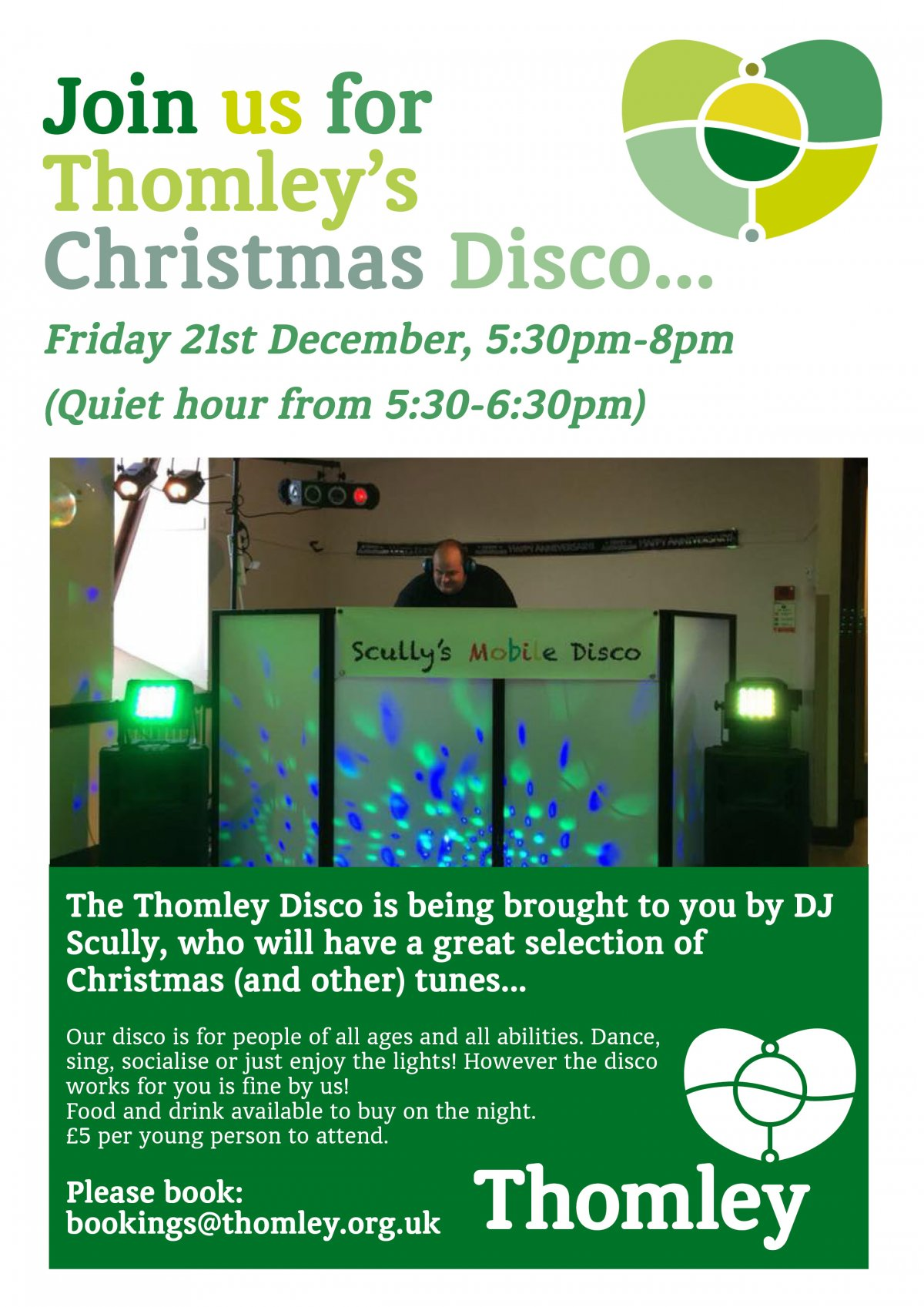 Thomley Christmas Disco…