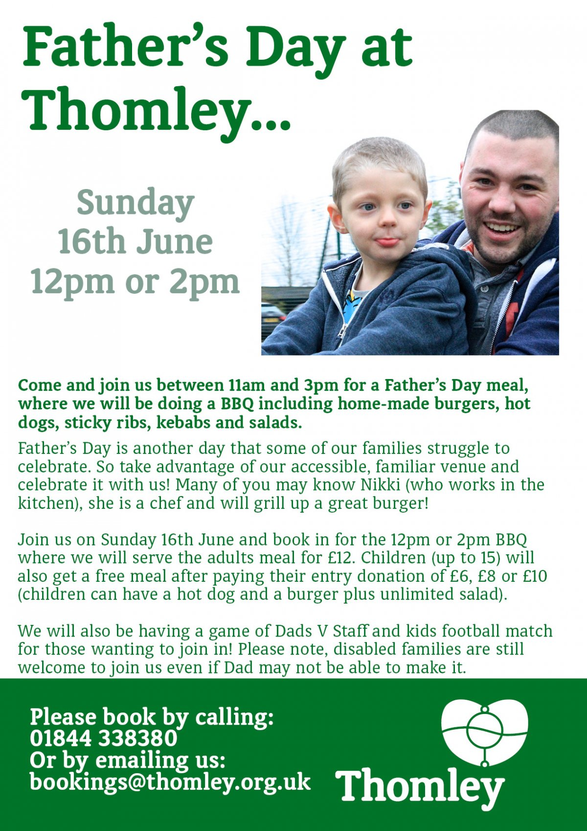 Father's Day At Thomley…