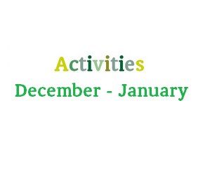 Thomley Activity Schedule For December-January