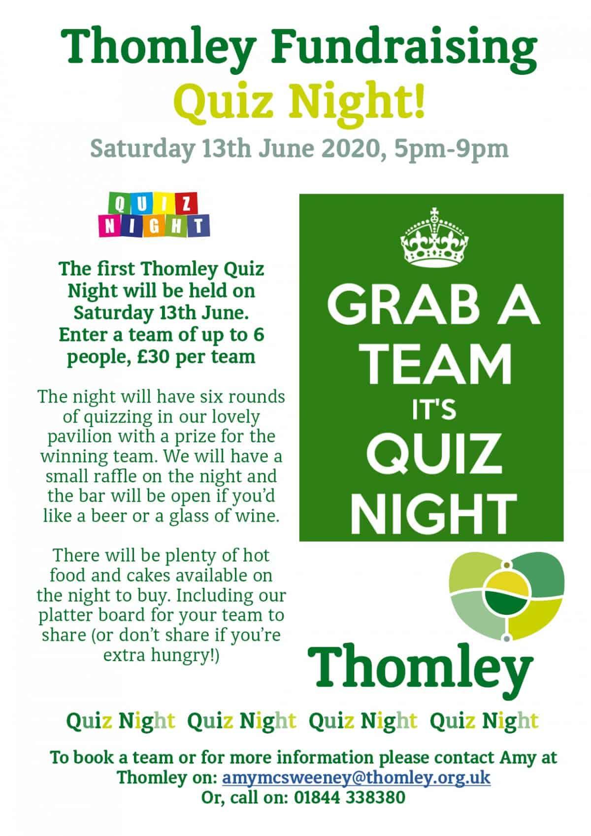 Thomley Quiz Night