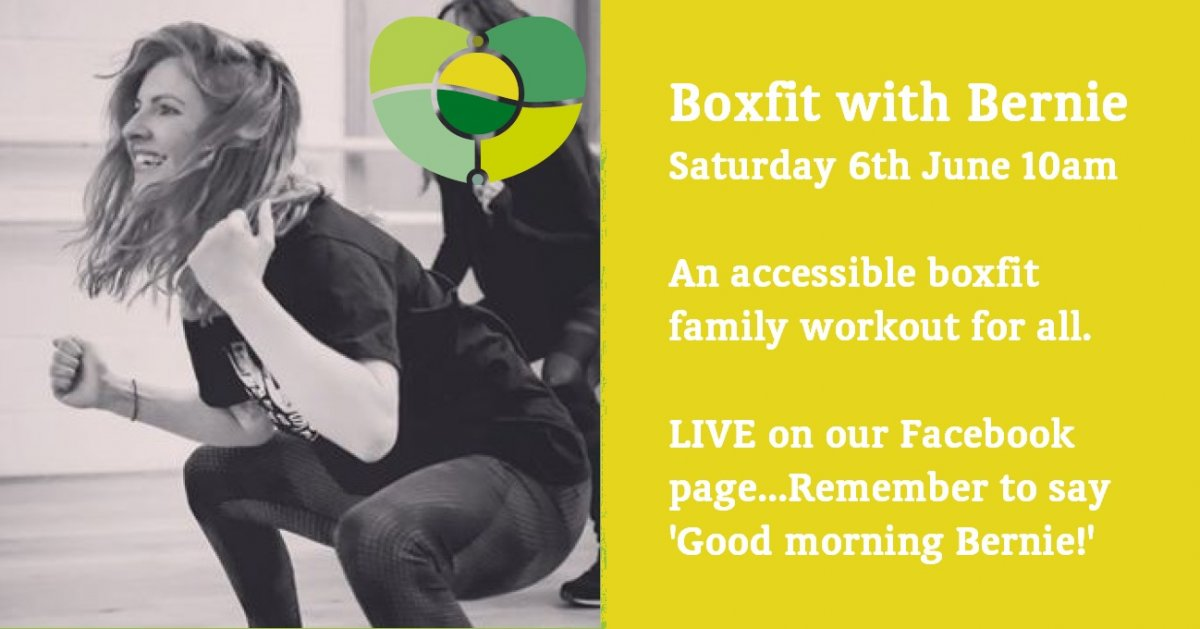Boxfit With Bernie, Saturday 6th June At 10am