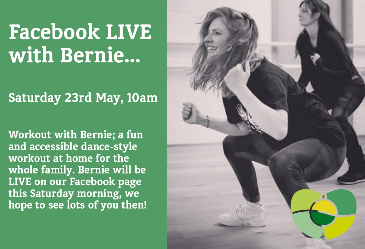Bernie's Dance And Fitness Workout This Saturday!