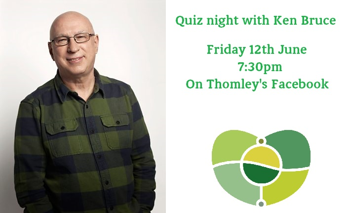 Quizmaster Ken Bruce Hosts Our LIVE Quiz…