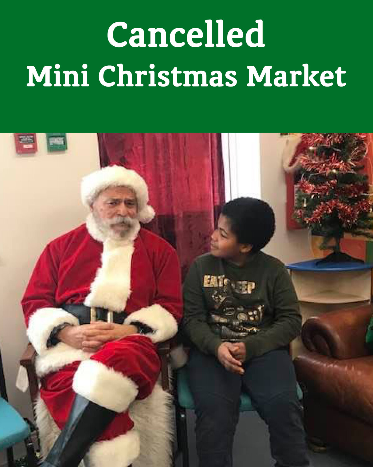 Mini Christmas Market Cancelled