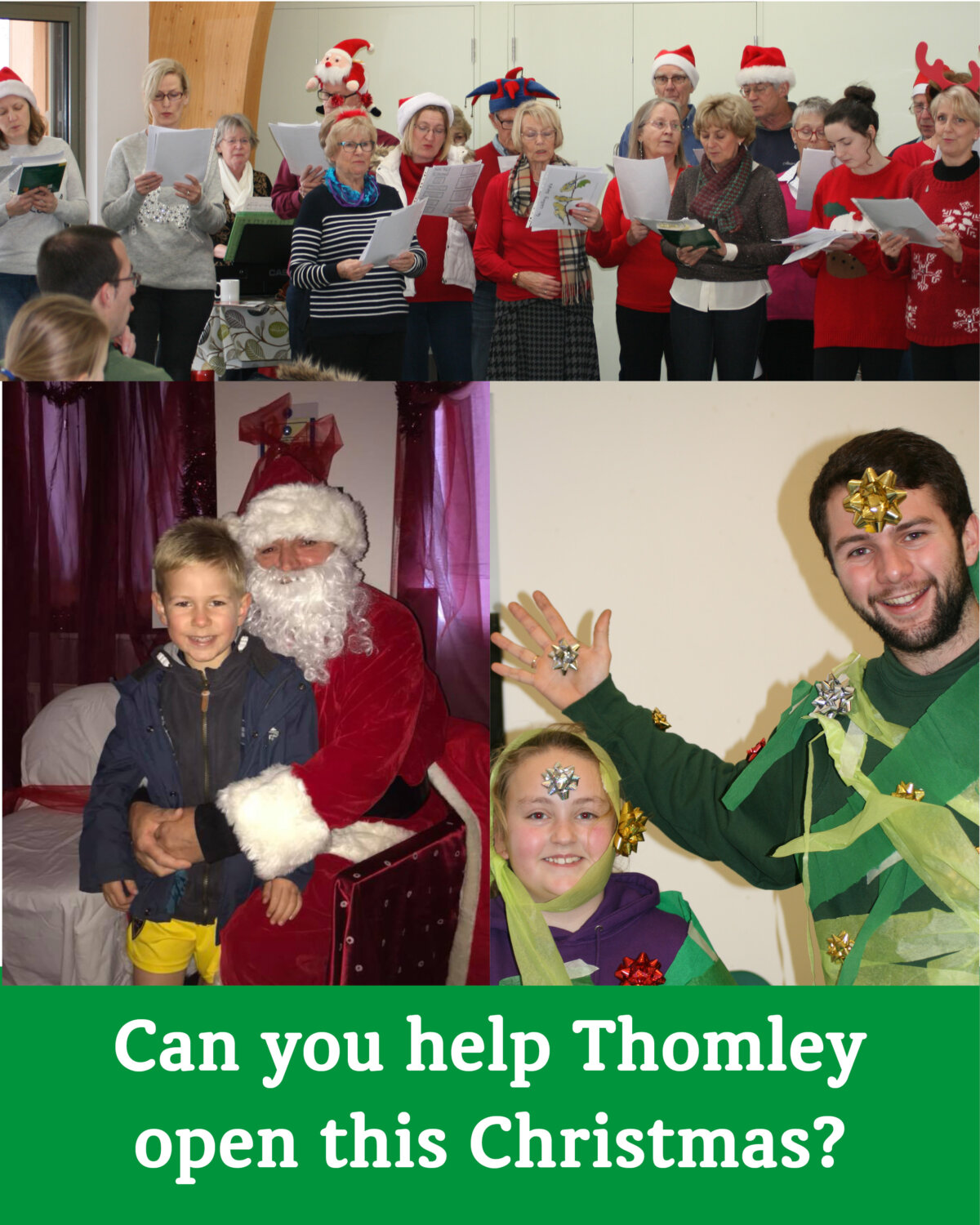 Christmas Opening Appeal…