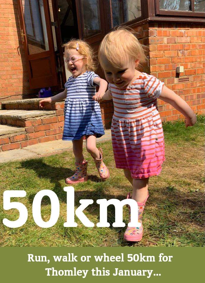 Run, Walk Or Wheel 50km For Thomley This January…