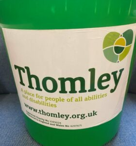 Have A Thomley Collection Box