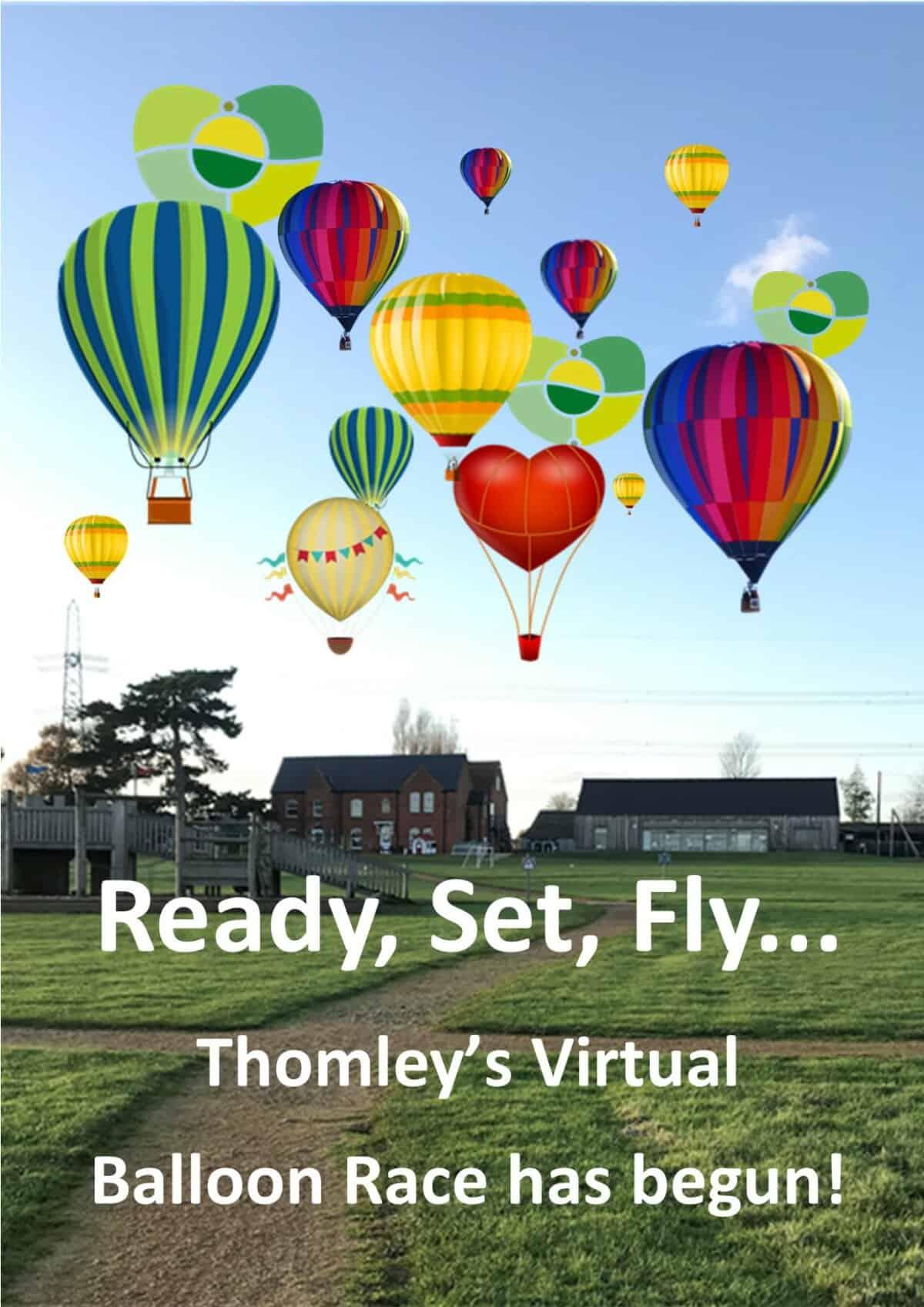 Virtual Balloon Race For Thomley…