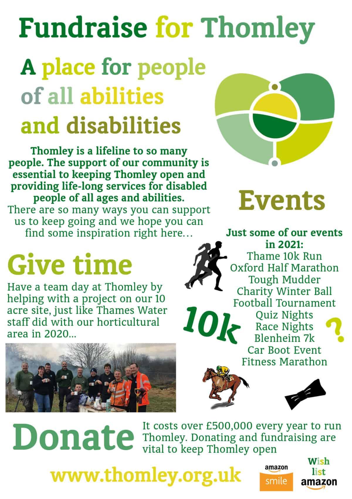Community Fundraising Leaflet