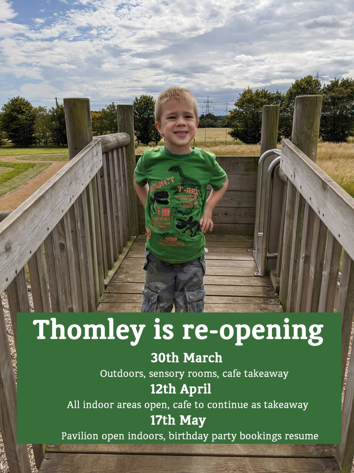 Thomley Is Re-opening On 30th March!