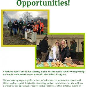 Volunteering For Thomley…