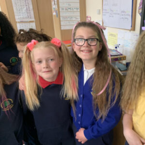 Funky Hair Day, School Fundraising For Thomley…