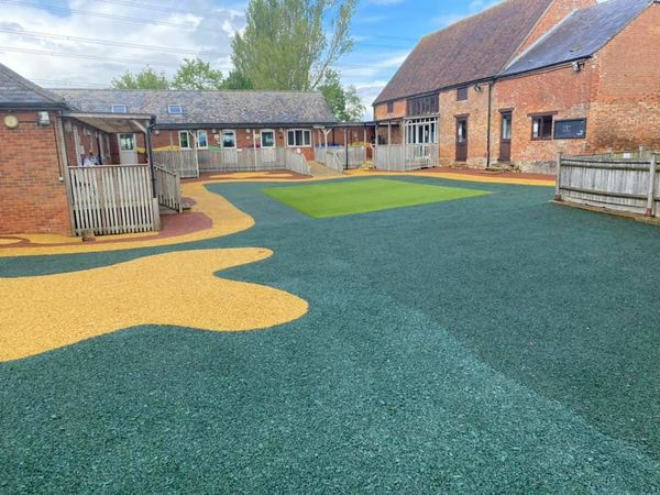 Come And Play On Our New Playground…
