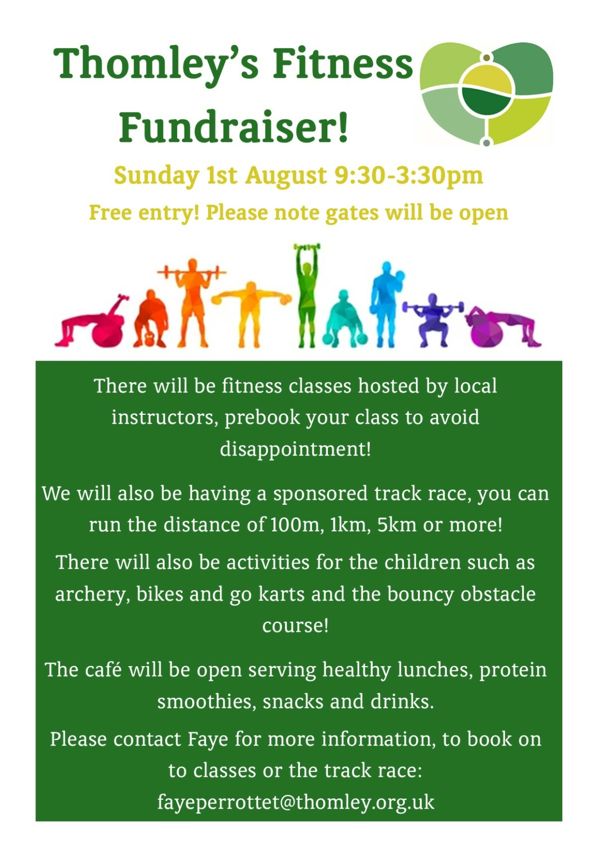 Thomley's Fitness Fundraiser…