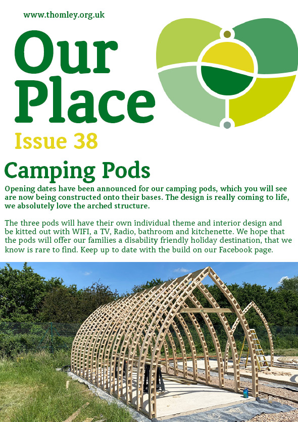 Our Place – Issue 38. All The Latest Thomley Summer News…