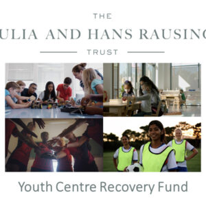 Thank You To The Julia And Hans Rausing Trust For Your Support…