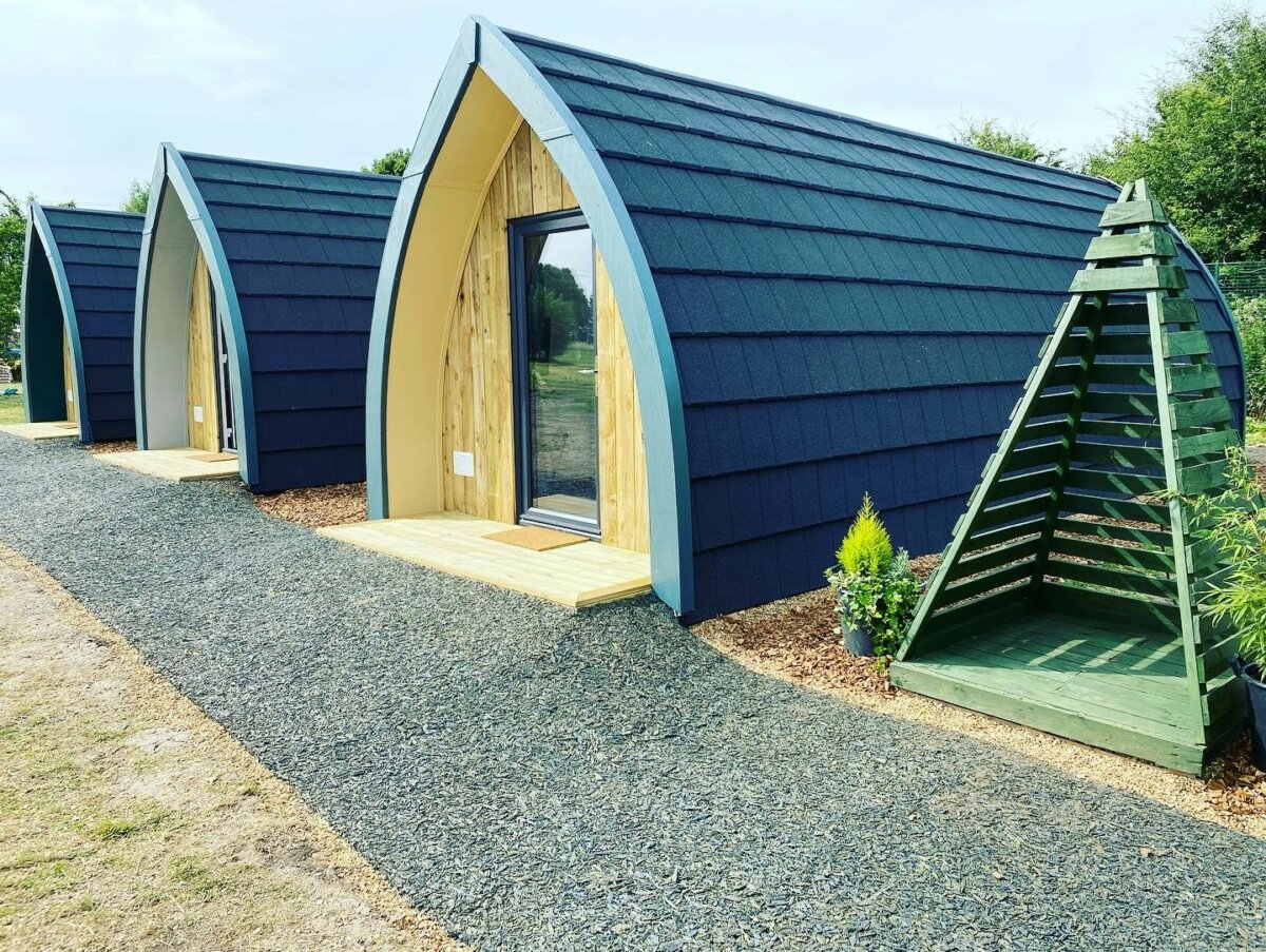 Camping Pods – OPEN NOW