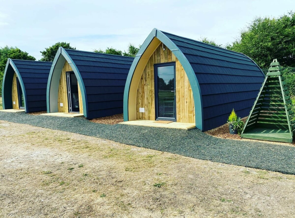 Camping Pod Availability For September And October…