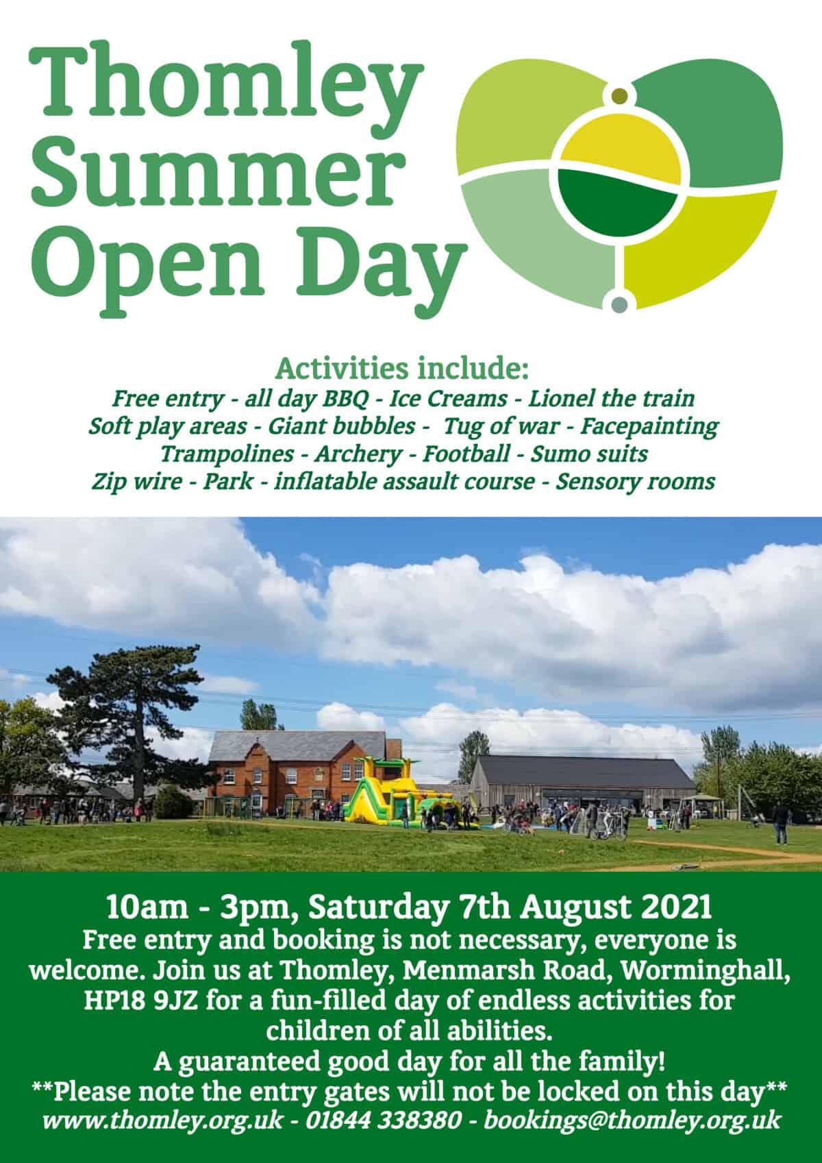 Summer Open Day