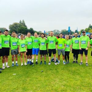 Our Oxford Half Marathon Team Did It!